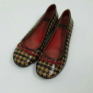 Kate Spade  rubber rain ballet flat shoes size 5